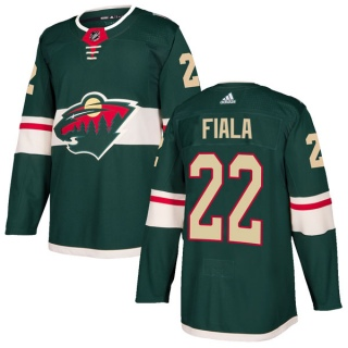 Men's Kevin Fiala Minnesota Wild Adidas Home Jersey - Authentic Green